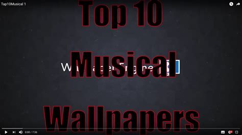wallpaper engine top 10 top 10 wallpapers for wallpaper engine musical youtube