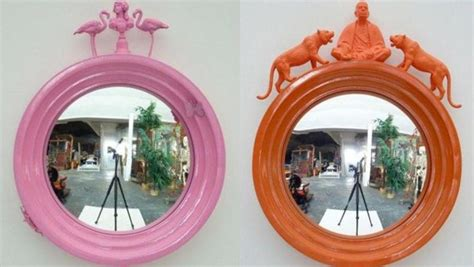 funky mirrors for bathrooms different cute in kids bathroom diy projects