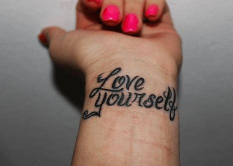 tattoo self love 20 short quotes for tattoos about love for him her