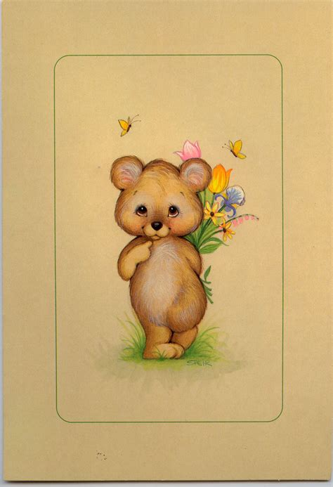 untitled musical greeting card teddy marges8 s