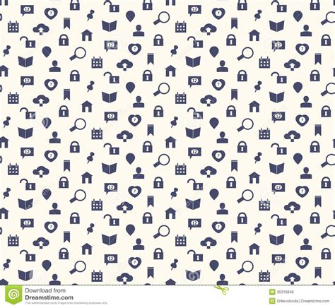 pattern design net seamless web icons and simbols pattern stock photo image