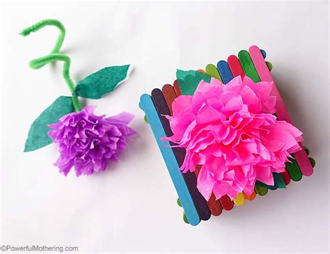 How To Make Flower With Crepe Paper - how to make crepe paper flowers tutorial