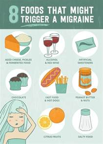 8 foods that just might trigger a migraine
