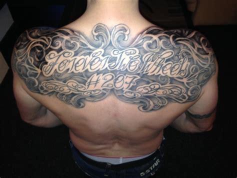 Motive Brust Schulter by Obstmann1 Brust Schulter R 252 Cken Tattoos