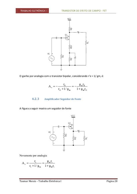 transistor fet ganho transistor fet 28 images aplicac 245 es do mos em pot 234 ncias elevadas v mos acervo