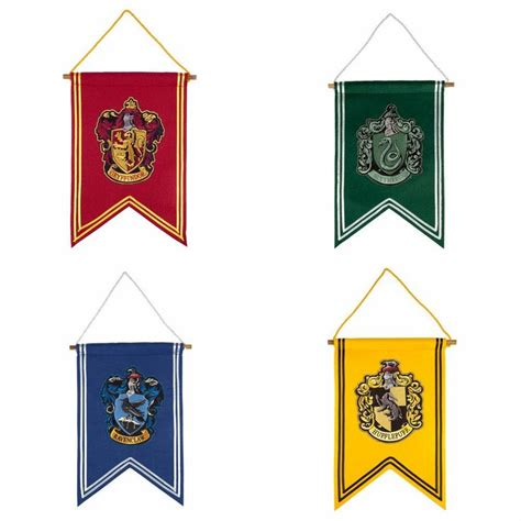 printable hogwarts house banners harry potter banner choice of hogwarts house wizarding