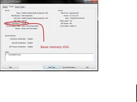 Ram Untuk Windows Xp bagaimana cara untuk melihat besar ram vga processor dll