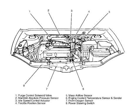 engine for 2004 hyundai santa fe 2004 hyundai santa fe engine diagram automotive parts