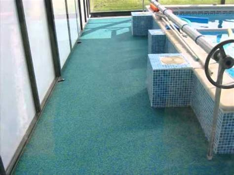 Pool Rubber Flooring by Rubber Anti Slip Safety Flooring For Swimming Pools