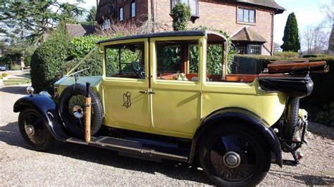 Wedding Car Epsom vintage rolls royce wedding car wedding car hire in
