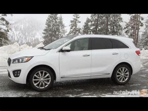 2016 kia sorento 7 passenger suv test drive review