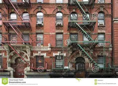 appartments in york apartment building manhattan new york city stock image
