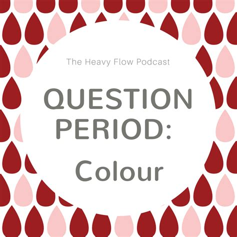 what color should period blood be what colour should your period be amanda laird