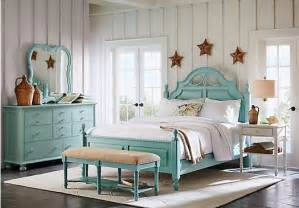 Low Bedroom Sets Home Seaside Blue Green Low Poster 5 Pc