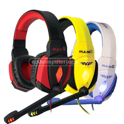 Headset Jogja armaggeddon pulse 5 headset 171 toko komputer jogja