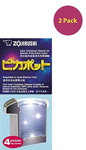 Zojirushi Citric Acid For Electric Pots Limited zojirushi cd k03eju inner container cleaner for electric