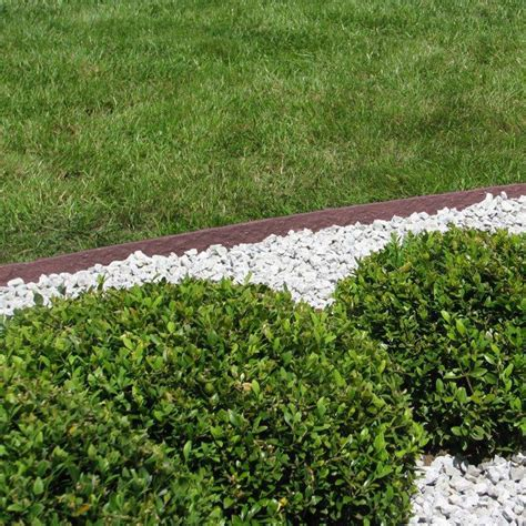 bed edging ecolat lawn edge lawn strip bed edging bed border mowing edge 14cm 25m ebay