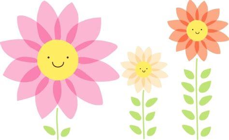 imagenes de flores animadas infantiles flores infantiles a color imagui
