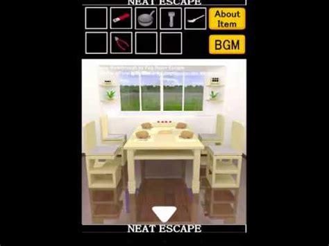 kitchen room escape walkthrough room escape walkthrough 脱出ゲーム攻略 台所からの脱出 escape from the kitchen by neat escape