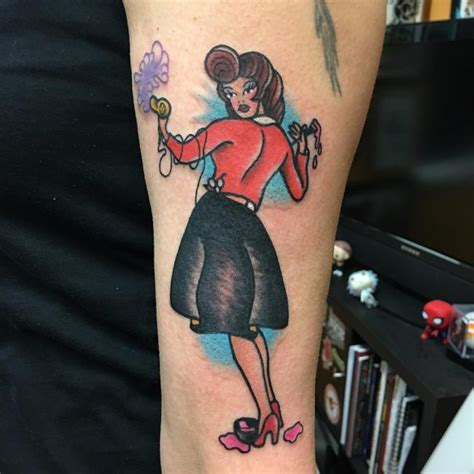 pinup with tattoo photo 90 best pinup tattoo girl designs meanings add style