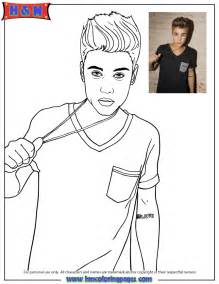 justin bieber coloring pages justin bieber tugging chain jewelry coloring page h m