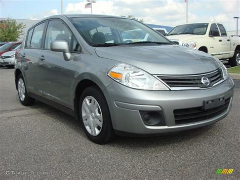 grey nissan versa 2010 magnetic gray metallic nissan versa 1 8 s hatchback