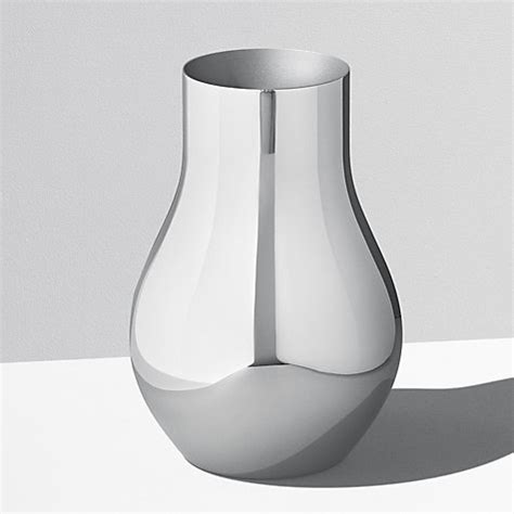 Stainless Steel Vase by Buy Georg Cafu Vase Stainless Steel 21 6cm