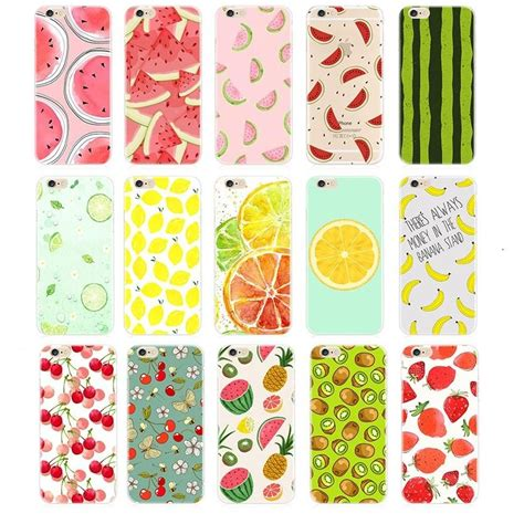 Fruit Iphone For 6 S fruit for apple iphone 7 7s plus 5 5s 6 6s 6plus tpu