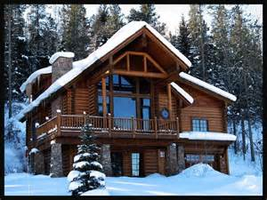 Luxury Log Cabin Homes Winter Cabins Creating Home