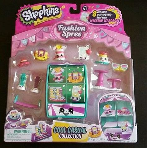Shopkins Season 5 Fashion Spree 5 shopkins season 3 fashion spree cool casual collection shopkins season 3