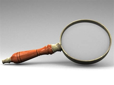 3d Magnifying Glass 3d model of magnifier glass