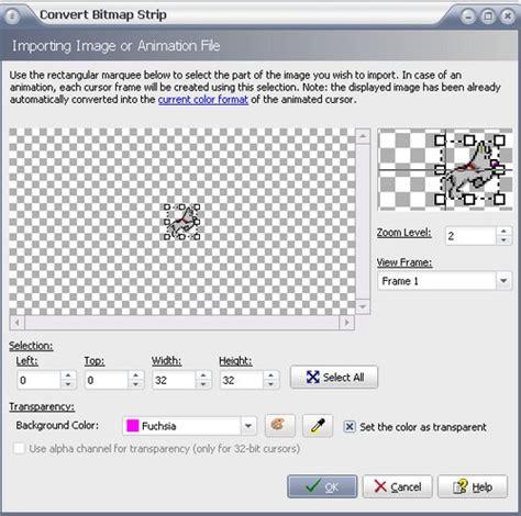 format file animasi membuat dan mengedit sendiri animasi cursor dengan