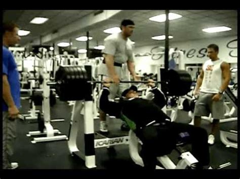 bench press 500 pounds paul sr 500 lb bench press 3g2 doovi