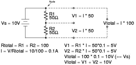 finding the voltage drop across a resistor introduction to electronics ccrma wiki