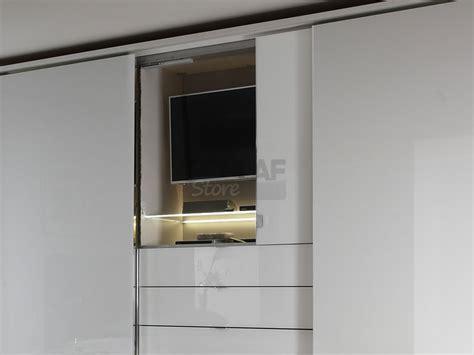 kleiderschrank 4 m lang staud media schwebet 252 renschrank spiegel glasfront mit 3er