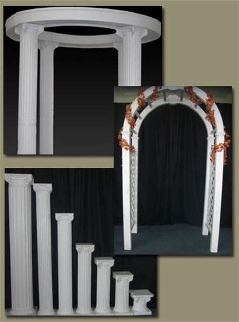 Wedding Arch And Columns by Wedding Arches With Columns Wedding Arches And Columns