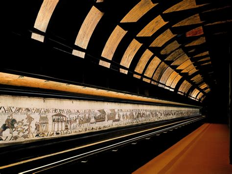Tapisserie De Bayeux Description by The Bayeux Tapestry One Of Normandy S Museums That S Well