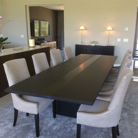 Modern Dining Room Table Handmade Modern Dining Table By Bedre Woodworking Custommade