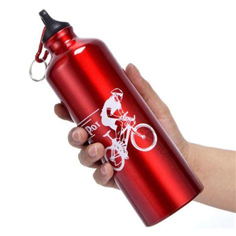 Botol Minum Olahraga Aluminium 750ml Dengan Karabiner T3010 3 botol minum olahraga aluminium 750ml dengan karabiner blue jakartanotebook
