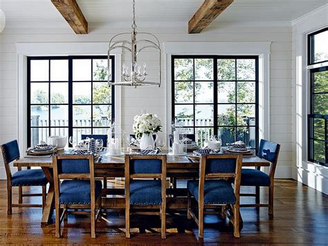 lake house dining room ideas lake muskoka cottage with coastal interiors home bunch