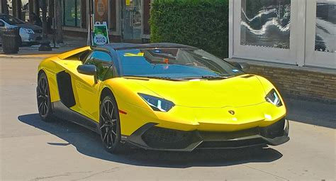 yellow lamborghini aventador atx car pictures real pics from austin tx streets