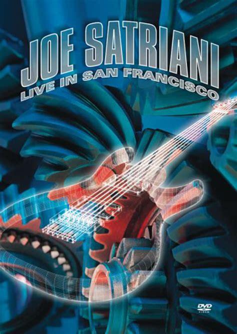 Joe Satriani Live In San Francisco joe satriani live in san francisco 2001 posters the