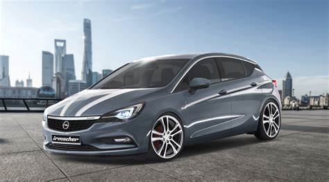 opel irmscher irmscher opel astra program is ready for launch