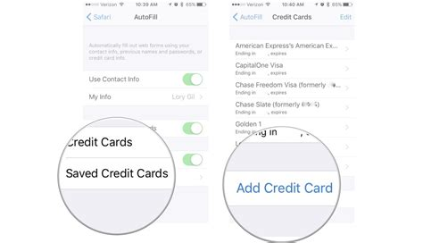 How To Add Gift Card To Ipad - how to use icloud keychain on iphone and ipad imore