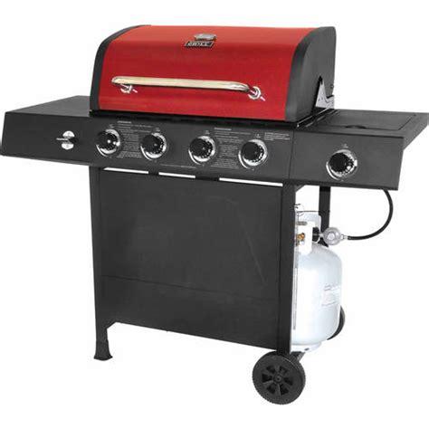 backyard grill 4 burner gas grill with side burner