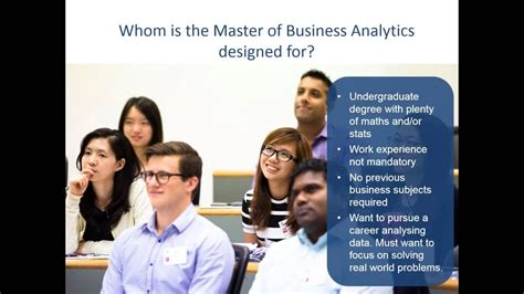 Masters In Business Analytics Vs Mba by Data Analytics Graduate Programs Cv Vs Template