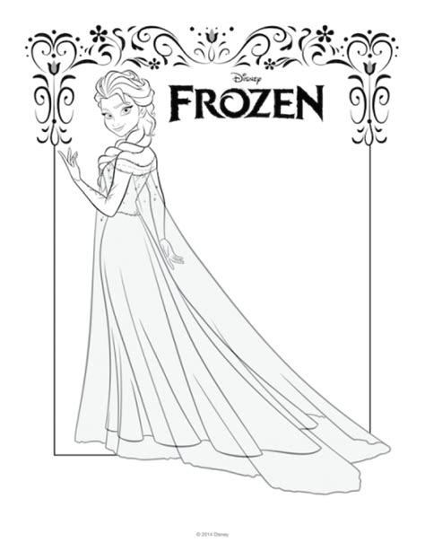queen elsa coloring pages free get this free printable queen elsa coloring pages disney