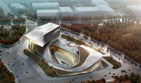 design architect datong city library building china e architect