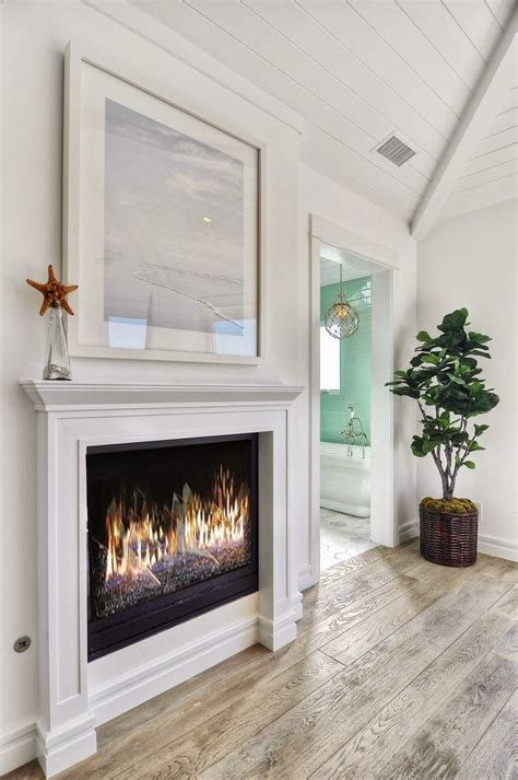 Cottage Fireplace Design by House Of Turquoise Blackband Design Decor Ideas