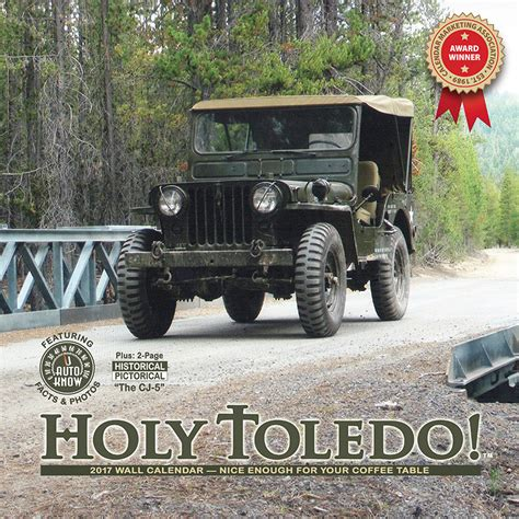 jeep calendar 2017 2017 holy toledo jeep willys calendars the cj2a page forums